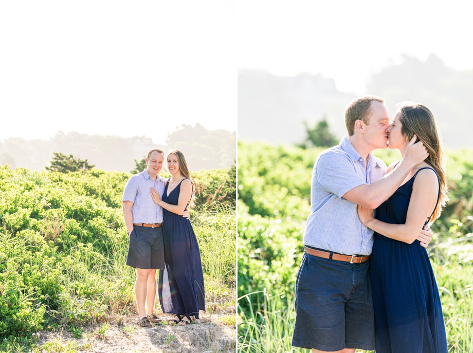 beautiful engagement session beach photo